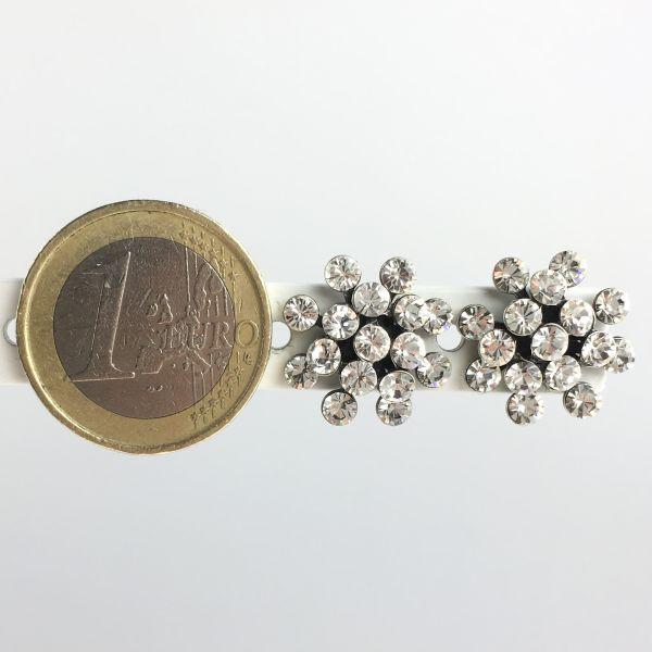Konplott Magic Fireball white crystal Ohrstecker mini 5450543656304