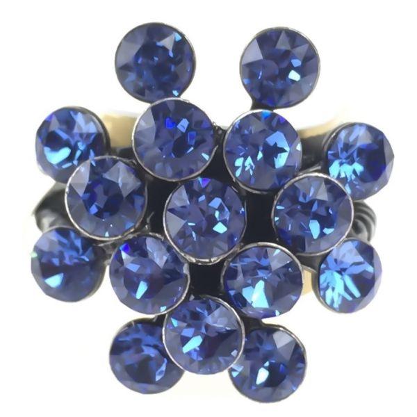 Magic Fireball 16 Stein Ring in sapphire
