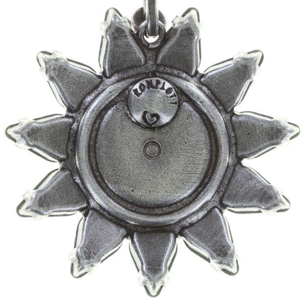 Konplott Sunflower Ohrclip hängend in weiß Größe L 5450543740706