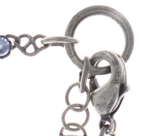 Konplott Festival Anklet Fußkette in hellblau Silberfarben 5450543747422