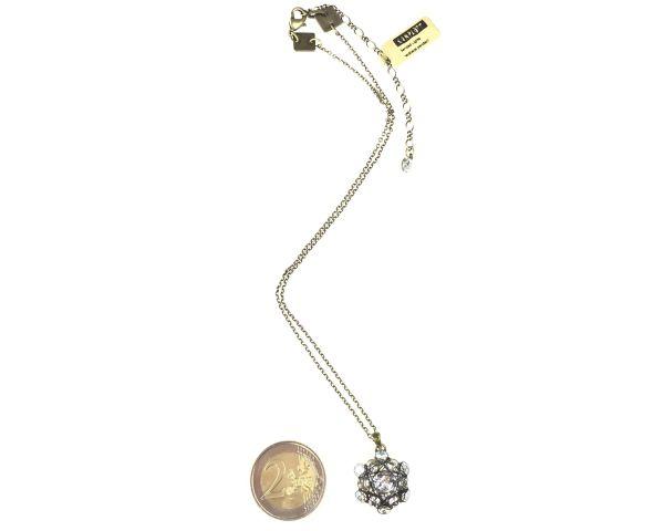 Konplott Bended Lights Halskette mit Anhänger in Weiß 5450527759007