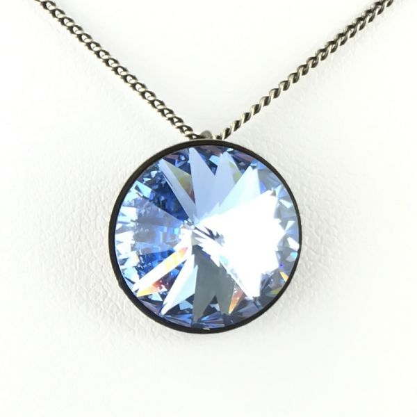 Konplott Rivoli light sapphire Halskette mit Anhänger 5450527495240