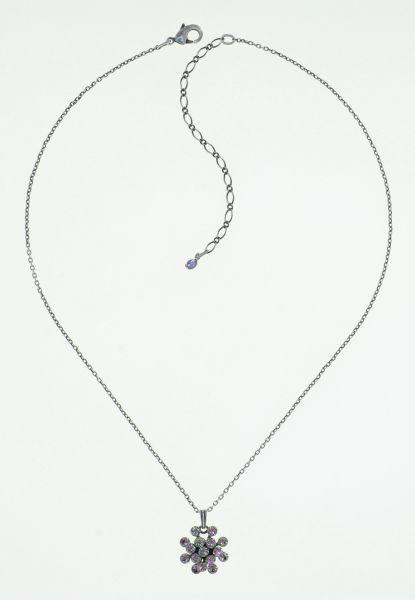 Konplott Magic Fireball Halskette in white/light rose crystal vitrail light mini 5450543915104