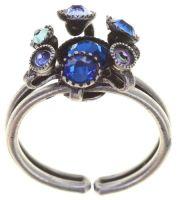 Konplott Alien Caviar Ring Blue Water in blau 5450543887869