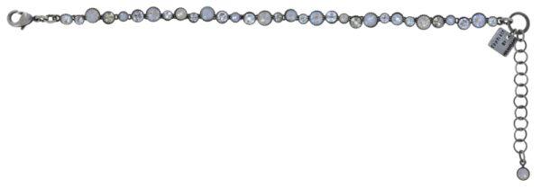 Konplott Water Cascade Armband in Vanilla Sorbet weiß/grau 5450543906959