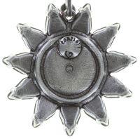 Vorschau: Konplott Sunflower Ohrclip hängend in weiß Größe L 5450543740706