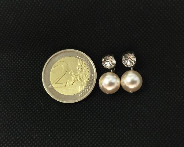 Konplott Pearl Shadow crystal Ohrstecker hängend 5450527598958