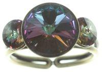 Vorschau: Konplott Rivoli Ring in grün colorado topaz vitrail 5450543785028