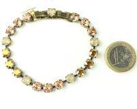 Vorschau: Konplott Colour Snake beige/braunes Armband verschließbar 5450543474724