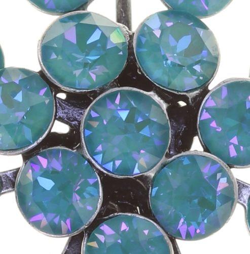 Konplott Magic Fireball Ohrhänger in water turquoise crystal laguna de lite 5450543852638