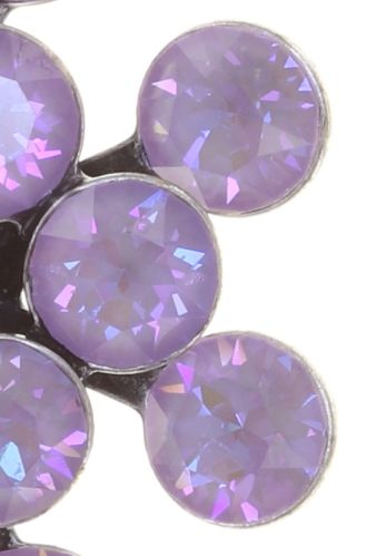 Konplott Magic Fireball Ohrstecker klassisch in lilashine crystal lavender de lite 5450543852690