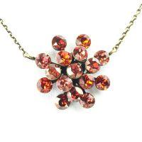 Vorschau: Konplott Magic Fireball Halskette mit Anhänger in multi rot 5450543222127