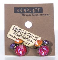 Konplott Disco Star Ohrstecker Unicorn 5450543880631