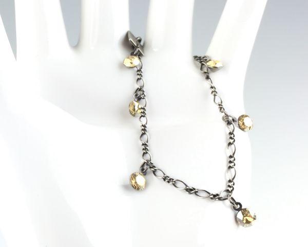 Konplott Tutui crystal golden shadow Armband verschließbar 5450527641128