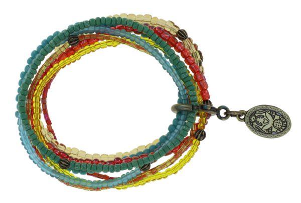 Konplott Petit Glamour d'Afrique Armband in pastel multi 5450543913940