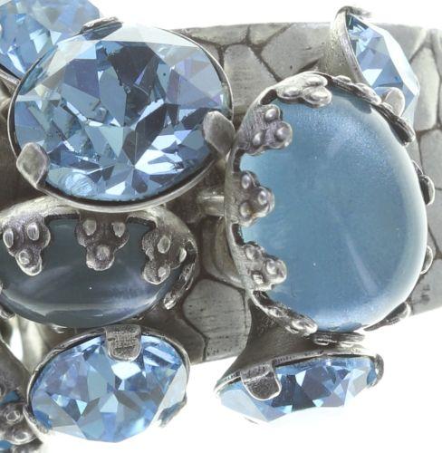 Konplott Jelly Star Ring in hellblau 5450543714387