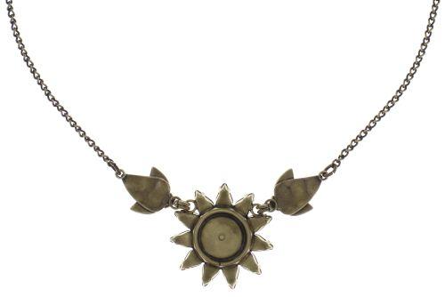 Konplott Sunflower Halskette in gelb/weiß/grün Größe L 5450543737546