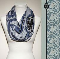 Vorschau: Konplott Schal Floral 14 in hellblau 5450543807058