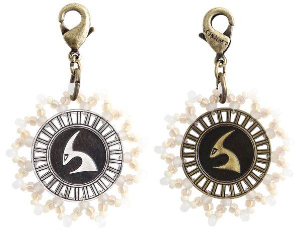 Konplott Zodiac weißer Charm-Anhänger (Steinbock) 5450543648422