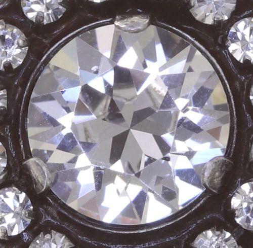 Konplott Rock 'n' Glam Ring in crystal weiß 5450543777023