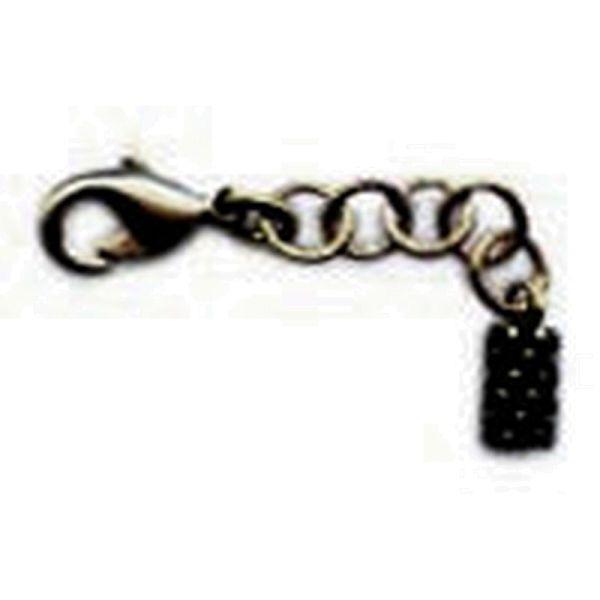 Konplott Armband Verlängerung in dunklem silber/schwarz 5450527800440