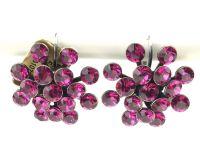 Vorschau: Konplott Magic Fireball Ohrhänger mit Klappverschluss in fuchsia, pink 5450527611879