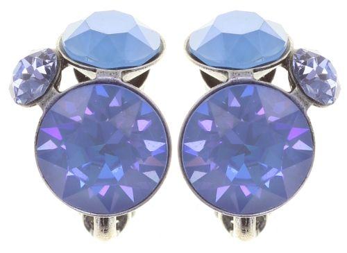 Konplott Disco Star Ohrclip in soft water blue 5450543854762