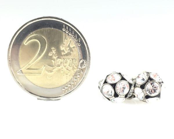 Konplott Disco Balls crystal Ring mit 2 Kugeln 5450527597029