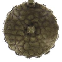 Vorschau: Konplott Inside Out Halskette mit Anhänger Größe S in orange 5450543638867