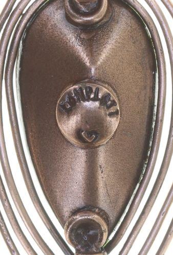Konplott Amazonia Ohrhänger in braun, Größe S 5450543753409