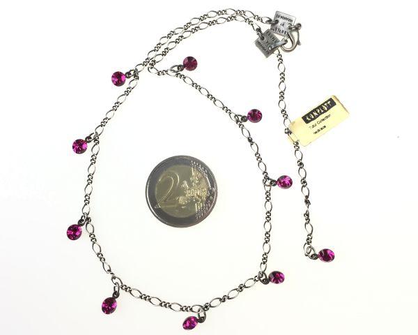 Konplott Tutui fuchsia Halskette steinbesetzt, pink 5450527591621