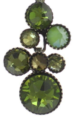 Konplott Water Cascade Halskette mit Anhänger in grün 5450543754239