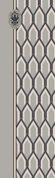 Konplott Schal geometrisch 7 in grau 5450543806891