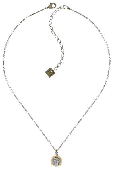 Konplott Kaleidoscope Illusion Halskette mit Anhänger in weiß 5450543771397