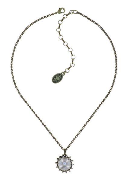 Konplott Halskette in weiß L - Where the Lilac Bloom 5450543896373