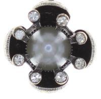 Vorschau: Konplott Petit Fleur de Bloom Halskette mit Anhänger in dragonfly grau 5450543793931