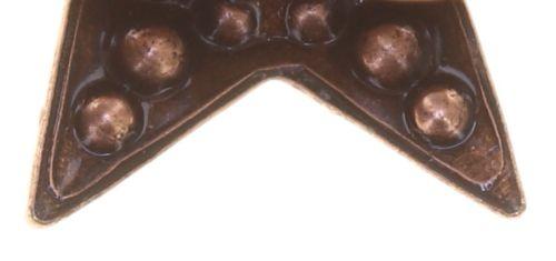 Konplott Dancing Star Ring in rot Größe M 5450543774671