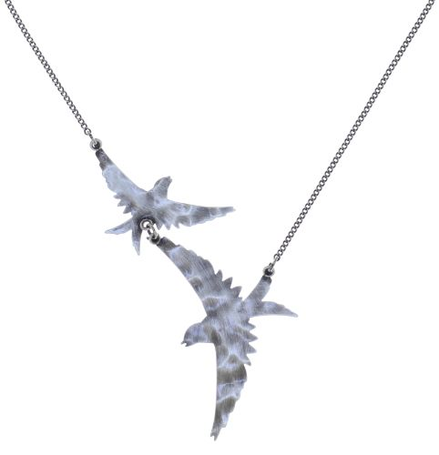 Konplott The Sparrow Halskette Größe M,S in silber 5450543750019