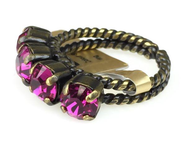 Konplott Colour Snake Ring in fuchsia, pink 5450527257084