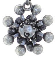 Vorschau: Konplott Magic Fireball Halskette mit Anhänger mini in weiß 5450543754987