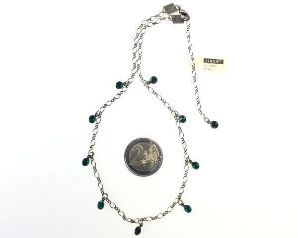 Konplott Tutui emerald Halskette steinbesetzt 5450527641173