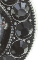 Vorschau: Konplott Simply Beautiful Ohrstecker in schwarz 5450543745404