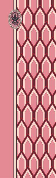 Konplott Schal Geomoetrisch 6 in pink 5450543806877