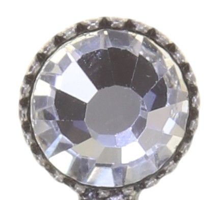Konplott Global Glam Ohrringe hängend in crystal weiß 5450543791579