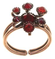 Konplott Alien Caviar Ring Forever Red 5450543891972