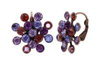 Vorschau: Konplott Magic Fireball Ohrhänger Ruby Violet in Classic Size 5450543936598