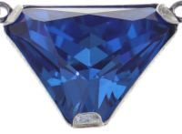Vorschau: Konplott Mix the Rocks steinbesetzte Halskette in crystal blau 5450543789873