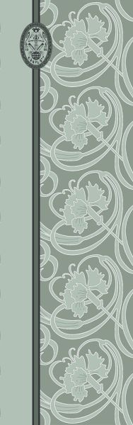 Konplott Schal Floral 21 in türkis grün 5450543807195
