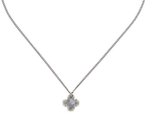 Konplott Petit Fleur de Bloom Halskette mit Anhänger in schwarz carbon bloom 5450543798998