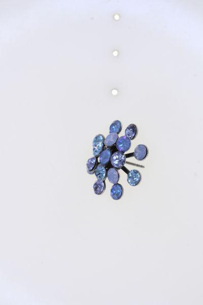 Konplott Magic Fireball Ohrstecker in blau Classic Size 5450543904597